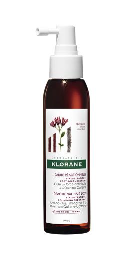 Klorane Force Концентрат против косопад с активен комплекс хинин-кофеин x125 мл