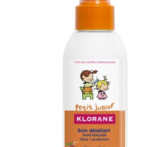 Klorane Petit Junior Спрей за разресване на косата с аромат на праскова х150 мл