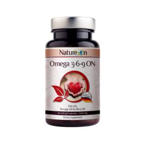 Омега 3-6-9 ОН / Omega 3-6-9 ON х60 меки капсули – NatureOn