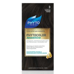 PHYTO PHYTOCOLOR SENSITIVE 3 – DARK CHESTNUT №3 Тъмен кестен