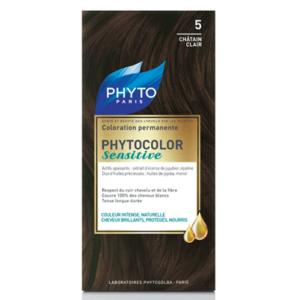 PHYTO PHYTOCOLOR SENSITIVE 5 – LIGHT CHESTNUT №5 Светъл кестен