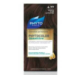 PHYTO PHYTOCOLOR SENSITIVE 6.77 – DARK BLOND BROWN №6.77 Тъмнорусо кафяв